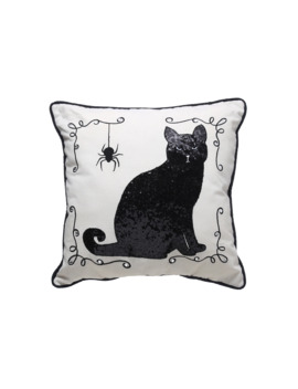 Black Cat Pillow By Ashland® by Michaels