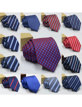 Newest Tie Slim Mens Ties Narrow Business Men Jacquard Woven Necktie Neckwear by Unbranded