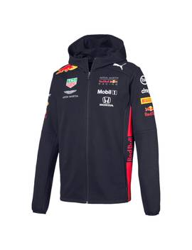 Red Bull Racing Team Hooded Men's Sweat Jacket by Puma