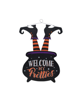 Witch Legs In Cauldron Wall Sign By Ashland® by Ashland