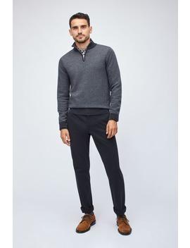 Washable Merino Half Zip Sweater by Bonobos