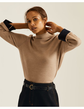 Double Faced Turtle Neck Jumper Double Faced Turtle Neck Jumper by Jigsaw