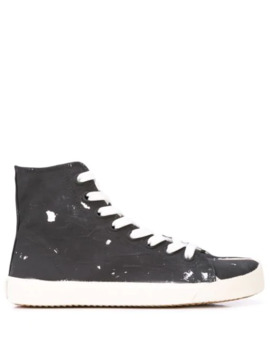 Tabi High Top Sneakers by Maison Margiela