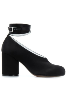 Tabi Wrap Around Ankle Strap Pumps by Maison Margiela