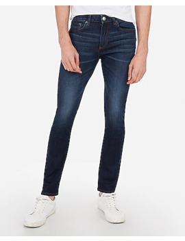 Super Skinny Medium Wash Tough Stretch+ Jeans by Express