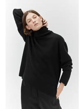 Relaxed Cashmere Roll Neck Jumper by Arket