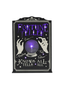 Fortune Teller Led Tabletop Sign With Try Me By Ashland® by Ashland