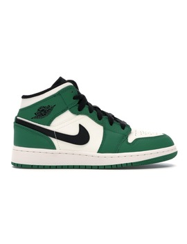 Jordan 1 Mid Pine Green (Gs) by Stock X