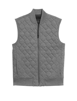 Cozy Quilted Vest by Banana Repbulic