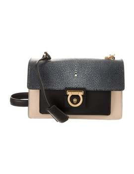 Stingray & Leather Bag by Salvatore Ferragamo