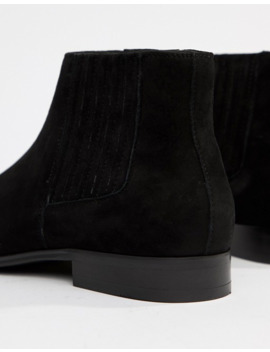 "<Font Style=""Vertical Align: Inherit;""><Font Style=""Vertical Align: Inherit;"">Aldo   Utterson   Chelsea Boots In Black Leather</Font></Font> by Aldo"