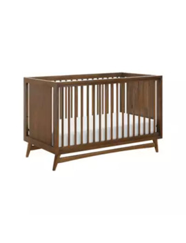 Babyletto Peggy 3 In 1 Convertible Crib In Natural/Walnut by Bed Bath And Beyond