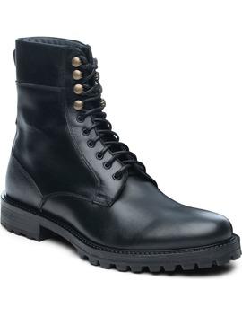 Ankari Floruss Plain Toe Combat Boot by Ankari Floruss