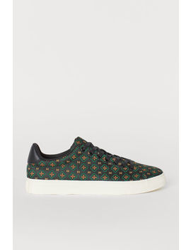 Jacquardmönstrade Sneakers by H&M