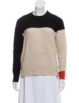 Wool Two Tone Sweater by Rosetta Getty