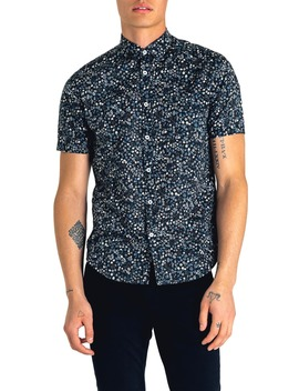 Slim Fit Kensington Floral Print Shirt by Good Man Brand
