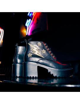 Thunderstruck Bolt Boots by Koi Footwear