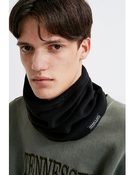 Uo Black Fleece Gaiter by Urban Outfitters
