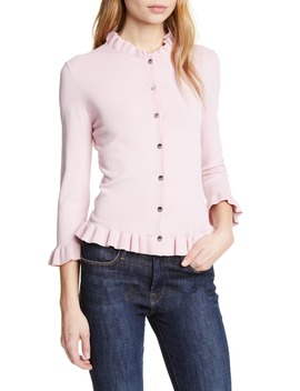 Treesa Frill Detail Cardigan by Ted Baker London