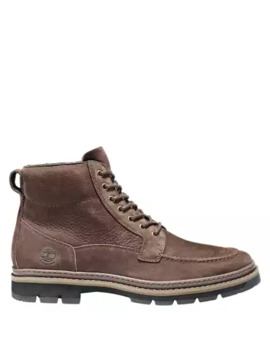 Men's Port Union Moc Toe Waterproof Boots by Timberland