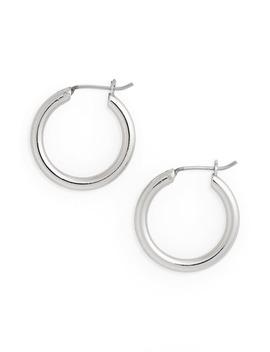Small Endless Hoop Earrings by Halogen