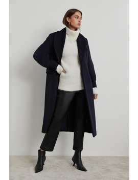 Georgie Wool Blend Coat by Ginatricot