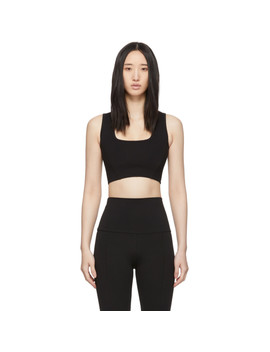 Black Transcend Sports Bra by Live The Process