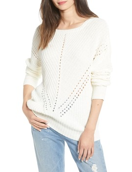 Blake Pointelle Sweater by Noisy May