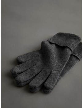 100 Percents Cashmere Gloves by Massimo Dutti