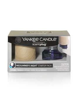 Yankee Candle Midsummer's Night Scent Plug™ Scent Diffuser And Refill Starter Kit by Yankee Candle