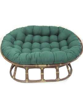 Indoor Papasan Cushion by World Menagerie
