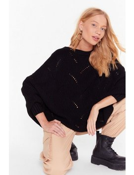 Knit's A Fact Balloon Sleeve Sweater by Nasty Gal
