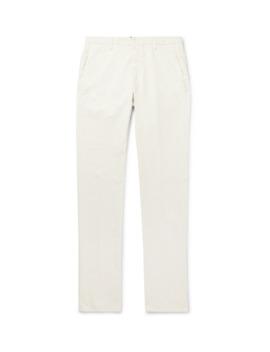 Noah Garment Dyed Cotton Blend Corduroy Trousers by Zanella