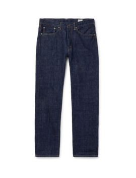 107 Slim Fit Selvedge Denim Jeans by Or Slow