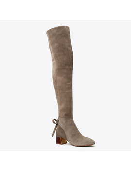 Gigi Over The Knee Ankle Tie Boot by Tory Burch