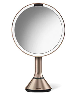 "8"" Sensor Makeup Mirror With Brightness Control by Simplehuman"