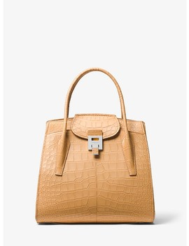 Bancroft Large Alligator Satchel by Michael Kors Collection