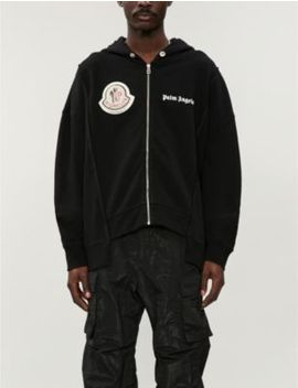 Moncler 8 Palm Angels Cotton Jersey Hoody by Moncler Genius