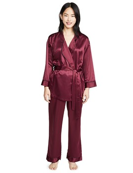 Wren Kimono And Trousers Pj Set by Bluebella