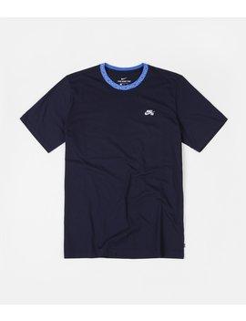 Nike Sb Nordic Rib T Shirt   Obsidian / Pacific Blue / White by Nike Sb