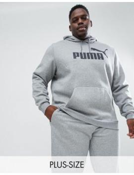 Puma Plus Essentials Pullover Hoodie In Grey 85174303 by Puma