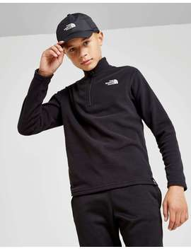 The North Face 100 Glacier 1/4 Zip Fleece Junior by Jd Sports