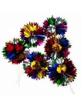 Foil Spiky Honeycomb Ball Ornament by The Seasonal Aisle