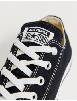Converse – Chuck Taylor All Star Ox – Svarta Sneakers by Converses