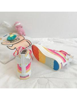 Wings Rainbow High Shoes (4.5 8.5) by Dog Dog