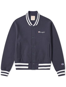 Champion Reverse Weave Small Script Logo Coach Jacket by Champion