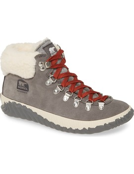 Out 'n About™ Conquest Waterproof Bootie With Faux Fur Trim by Sorel