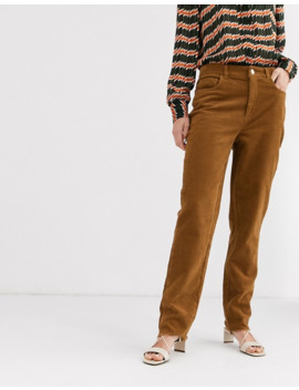 Only Straight Leg Cord Trousers by Only's
