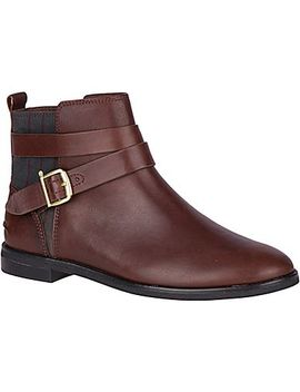 Women's Seaport Shackle Leather Boot by Sperry