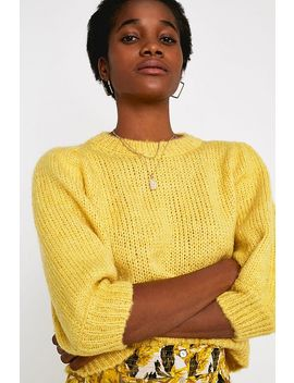 Uo Balloon Half Sleeve Jumper by Urban Outfitters